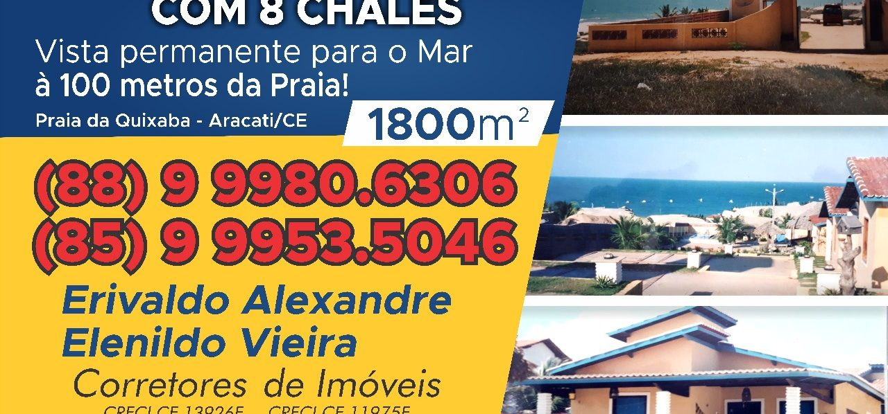 Pousada – Praia da Quixaba Aracati/CE
